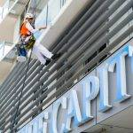 Abseil painting Brisbane Body Corporate